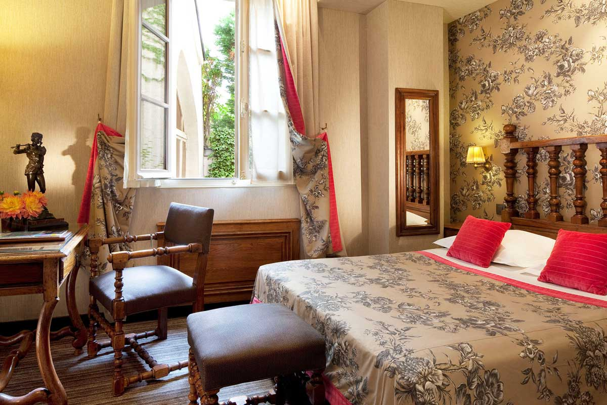Rooms - Hotel Left Bank St Germain *** | OFFICIAL SITE